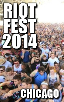 Chicago 2014 - RIOT FEST - Weezer, Janes Addiction - The CURE - The Descendents